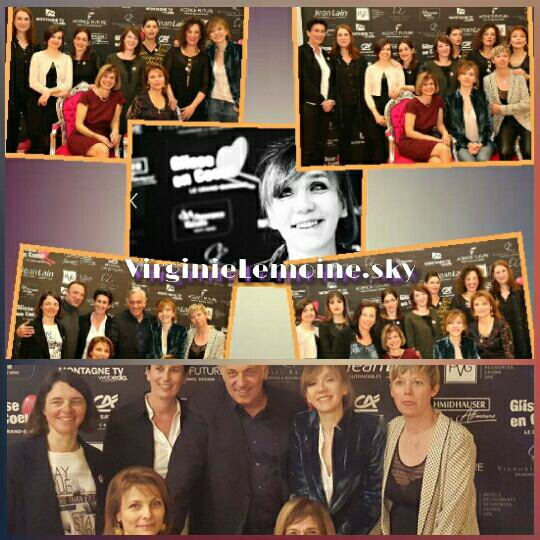 Virginie Lemoine parle de sa pièce +Virginie glisse en coeur le 19,20,21 Mars+Virginie rédactrice en chef de non stop people