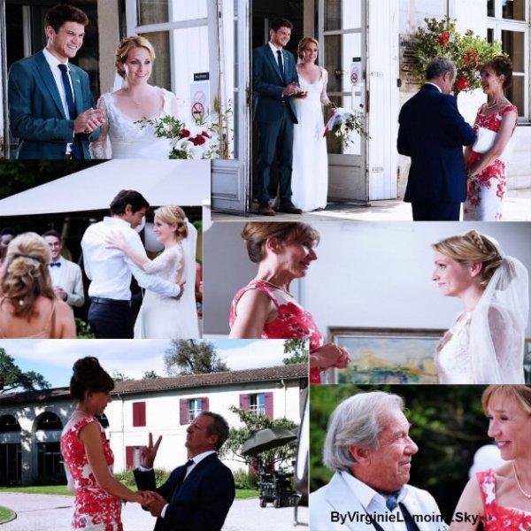 Mariage de charlotte en avant première!!