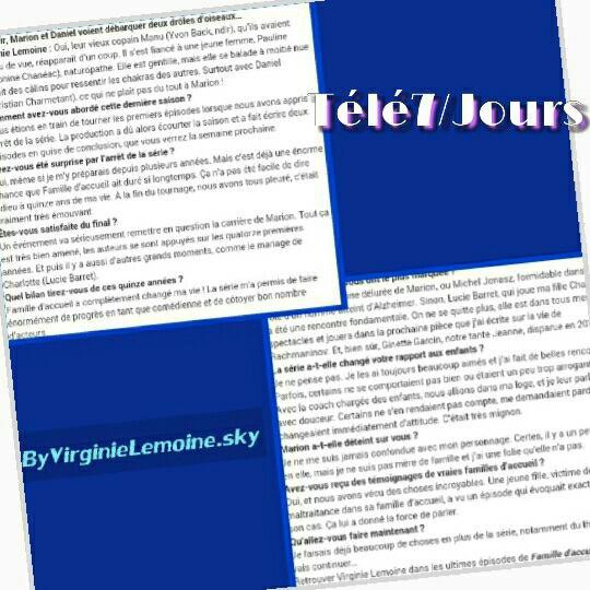 """Articles de presse """"Famille d'accueil"""""""