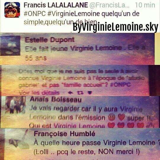 Virginie Lemoine - On n'est pas couché 4 juin 2016
