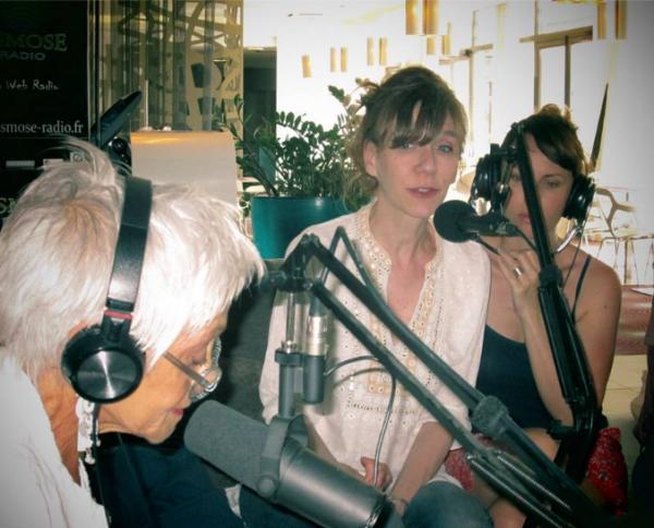 Virginie sur Radio Osmose Pour présenter ses Spectacles au off d'avignon