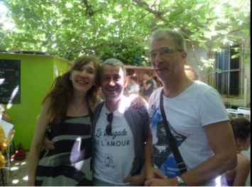 Virginie interviews en Avignon 2016
