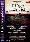 """New pièce de thêàtre"""":Piege Mortel"""" avec Virginie Lemoine"""