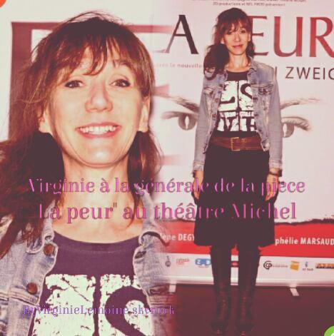 Sorties théâtre Octobre 2016 :Virginie Lemoine