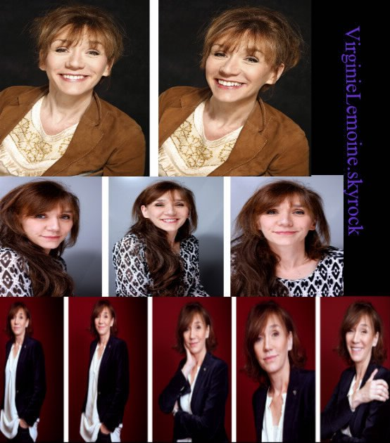 Photoshoots Virginie Lemoine