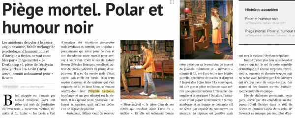 Article de Presse :Piege Mortel