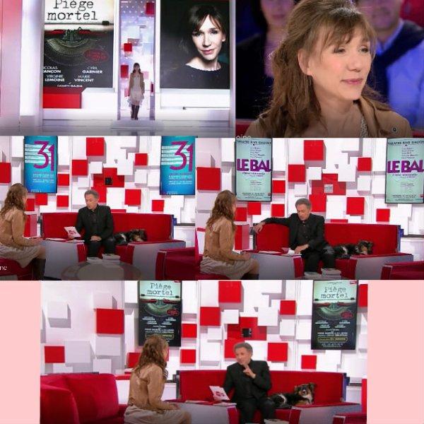 Virginie Lemoine-Vivement Dimanche Prochain 26/02/17