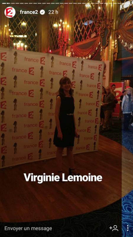 Virginie Lemoine :Molieres 2017