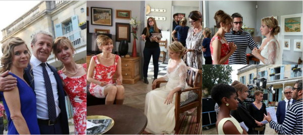 "Fin Tournage ""Famille d'accueil"" 11/09/15 (photos exclusives)"