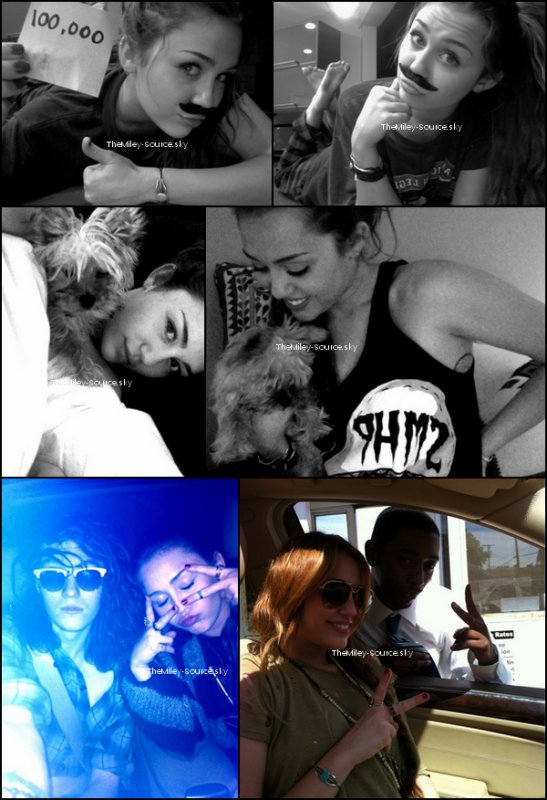 .03/04/2011 La Famille Cyrus était de nouveau de sortie, à Sherman Oaks. On retrouve le look de Miley ! Vous aimez ?+ Retrouvez ici quelques Tweets de Mil' qu'elle a posté sur le Twitter du Gypsy Heart Tour..