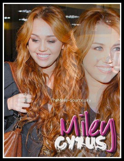 Toute l'actualitée sur Miley Cyrus
