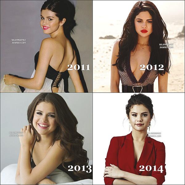 # Evolution de Selena Gomez de 2007 à aujourd'hui (2014) suivez son évolution ! #