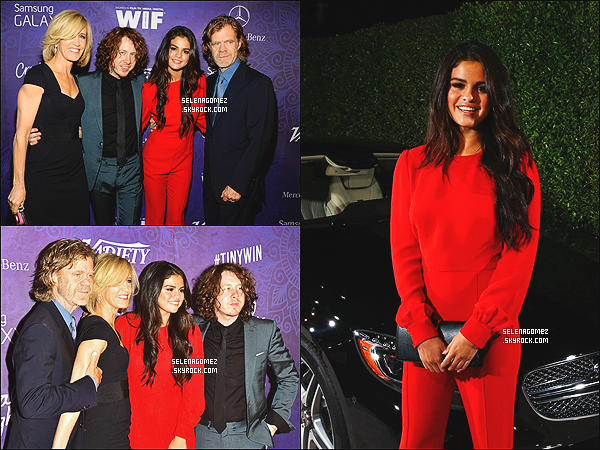 # 24/08/14 - Selena était à la soirée « Pré-Emmy Awards 2014 Variety and Women »  #