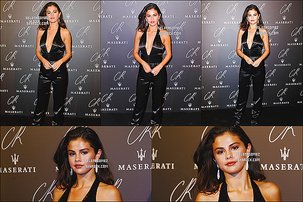 30/09/14 :  La belle Selena Gomez était présente à la soirée CRIB Fashion Pool Party, Paris (France). + Info : Selena et Justin sont donc à Paris, surement pour la Fashion Week, comme pas mal de stars. + Sel est vraiment magnifique !