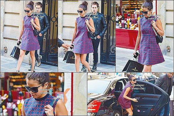 30/09/14 :  La belle Selena Gomez était présente à la soirée CRIB Fashion Pool Party, Paris (France). + Info : Selena et Justin sont donc à Paris, surement pour la Fashion Week, comme pas mal de stars. + Sel est vraiment magnifique !