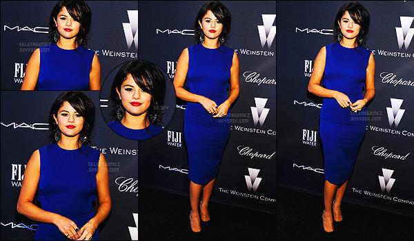 - 21/02/15 : Selena Gomez était présente au « Weinstein Compagny Academy Awards » à Los Angeles, CA.    À cette soirée des pré-oscar, qui on lieu ce dimanche soir - notre belle Selena Gomez a posée en compagnie de Julianne Hough puis de Nina Dobrev. -