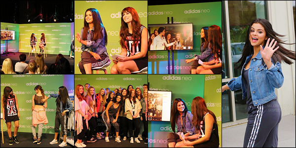 ''INTERVIEW ●'' Découvrez sans plus attendre la vidéo de la session questions-réponses organisé pour Adidas Neo. Après avoir présenté la collection NEO de la marque, Selena Gomez a donc répondu à des questions posées par ses fans. Elle est resplendissante ! [/alig fen]