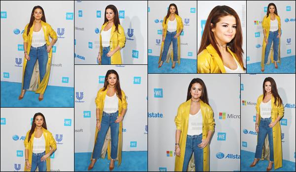 07.04.16 ─  Comme prévu, Selena G. s'est rendue à l'événement «  WE Day  » se déroulant à Los Angeles, CA.[/s#00000ize]Et Demi Lovato était également présente à cet event' dont le but est de réunir non seulement les étudiants mais aussi les éducateurs de 550 écoles ![/alig fen]