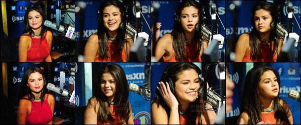 22/06/15 - Selena poursuit sa promo pour GFY, elle a été vue arrivant dans les locaux de la radio Sirius XM. La jeune starlette porte toujours la même tenue que dans l'article précédent, elle enchaîne ainsi la promotion de son nouveau single. Ton avis ?! [/alig fen]