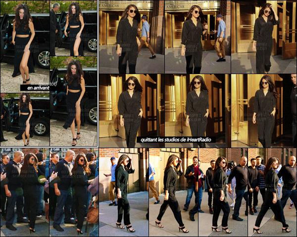 13/10/15 - Miss Gomez a été photographiée quittant un immeuble se situant dans la ville de New-York. Promo, promo & encore promo, Selena ne s'arrête plus ! Elle enchaîne donc les studios de différentes radios ainsi que les émissions télé ! Top ?[/alig fen]