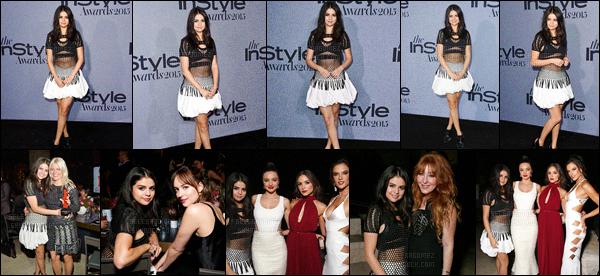 26/10/15 - Miss Selena était présente au « Instyle Awards 2015 », une cérémonie se déroulant à LA ! Durant la soirée la starlette a foulé le tapis rouge en compagnie de célébrités comme la jolie Dakota Johnson ! Tu aimes le look de la Gomez ?[/alig fen]