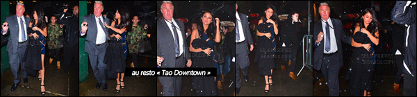10/11/15 - Miss Selena a été vue à l'after-party du « Victoria's Secret Fashion Show  », encore à N-Y. Cette journée était donc entièrement dédiée au défilé VS ! Avez-vous hâte de pouvoir enfin découvrir la performance de la jeune chanteuse ?[/alig fen]