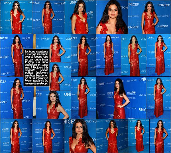 """'""""""""12.01.16'"""" ─ Selly était invitée au bal de « l'UNICEF » qui se déroule à l'hôtel Beverly Wilshire Four Seasons de LA. La jolie brune enchaîne les événements en ce moment ! Côté tenue, je ne suis vraiment pas fan de sa robe rouge ... Elle aurait pu faire bien mieux ![/alig fen]"""