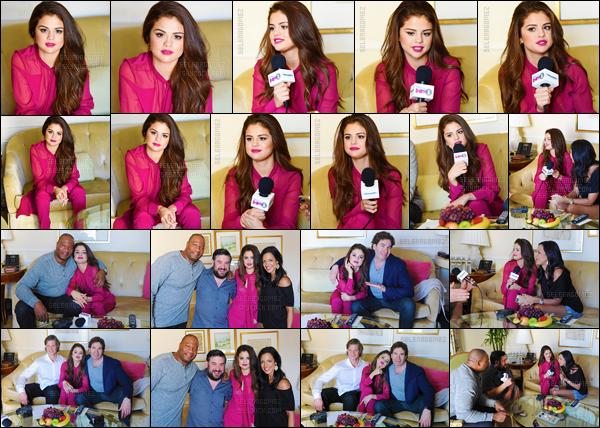 12.02.16 ─ Selena G. a donné une interview pour « Sirius XM », dans l'hôtel The Peninsula situé à Beverly Hills. [/s#00000ize]Dans quelques jours, le 15 février précisément, aura lieu la cérémonie des Grammy Awards. Selly devrait d'ailleurs être assise aux côtés de Taylor ! [/alig fen]