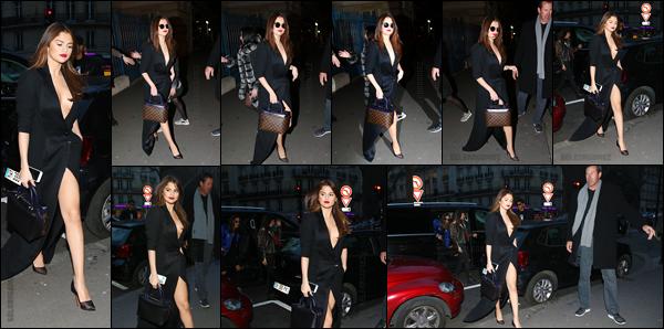 08.03.16 ─  Selena a premièrement été aperçue quittant son hôtel, et ensuite, se baladant dans les rues de Paris ! [/s#00000ize]Et ça y est, notre jolie starlette marque son grand retour dans la capitale française & ce, pour notre plus grand bonheur. Quelle tenue préférez-vous ?[/alig fen]