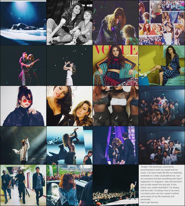 '''INSTAGRAM ●''' Découvrez en exclu les dernières photos postées par Selena Gomez, sur le réseau social Instagram ! Toujours très active sur les réseaux sociaux, Gomez ne nous laisse jamais très longtemps sans nouvelles via @selenagomez. Votre post préféré ?[/alig fen]