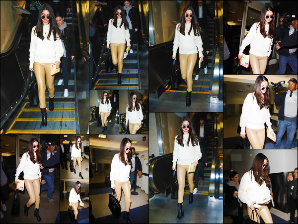 28.11.16 ─ Selena Gomez a été repérée en arrivant à l'aéroport LAX, qui se situe dans la ville de Los Angeles ! [/s#00000ize]Selena semble avoir quitté le centre de réhabilitation, pour le plus grand bonheur des fans qui peuvent enfin avoir quelques news d'elle. Un TOP ? [/alig fen]