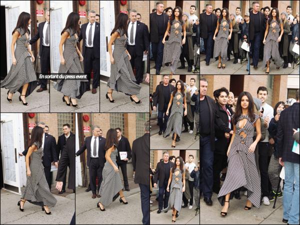 """"""" _'• 08.02.17  '"""" ─ Miss Selena s'est rendue à un événement pour la série 13 Reasons Why dans la ville de New-York City.Journée chargée pour Selena. Un peu plus tard dans la soirée, elle a une fois de plus été photographiée dans NY alors qu'elle se baladait !   """""""