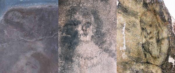 Article 7: Des visages qui apparaissent sur le sol.
