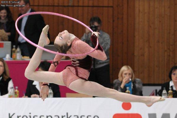 Sarah Ignace cerceau tournois Fellbach-Schmiden 03/06/2010 - 03/07/2010