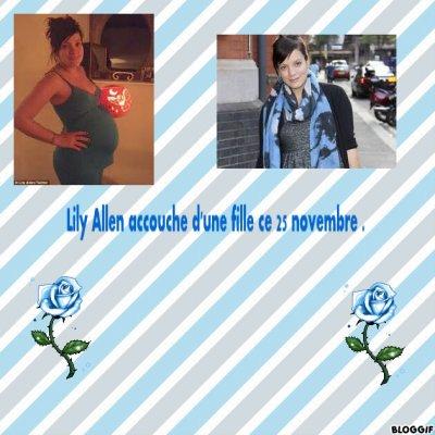 Lily Allen Maman !!!!!!!!!!!