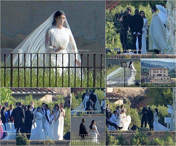 . Kim Kardashian-West: tout sur son mariage! .