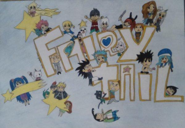 Concours Nono n°3 : Les personnages de Fairy Tail chibi