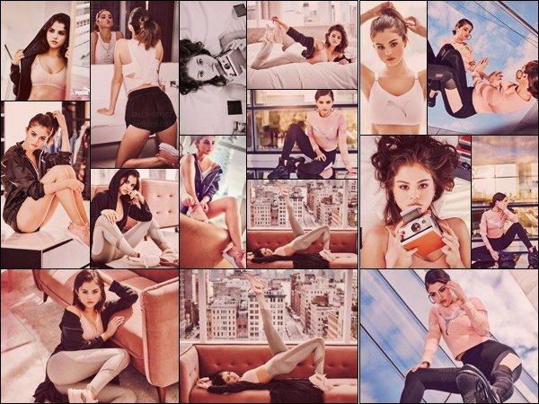 .Shoot  : Voici les premières shoot de la célèbre  marque dont l'américaine Selena Marie Gomez est la nouvelle l'égérie de la marque Puma  ! Beau shoot de Selly. Dommage que les boutiques ne commerce pas  c'est produits que selly nous présente ._ Vous en pensez quoi de la collection ? .