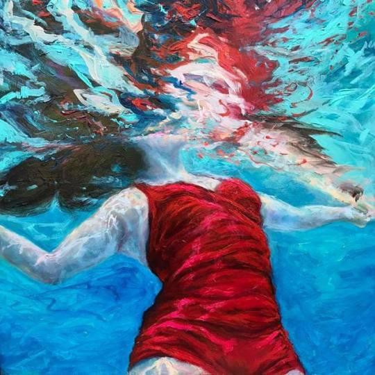 Flotter à la dérive et garder la tête hors de l'eau... Sans craintes ni impatience