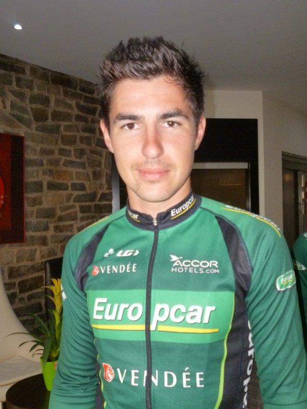 petite visite à l'hôtel de l'équipe europcar pour le tour de Wallonie.