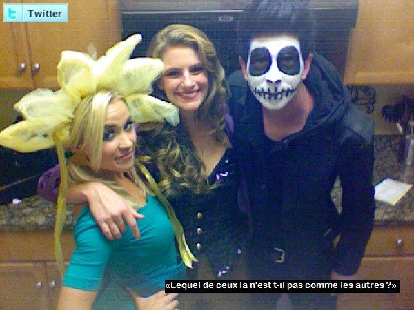 Nouvelles photos personelles sur twitter dans laquelle Em' apparaît dans son costume d'Halloween !