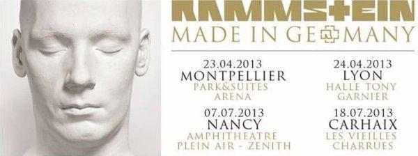 Rammstein en concert ( vite y aura pas des places pour tout le monde )