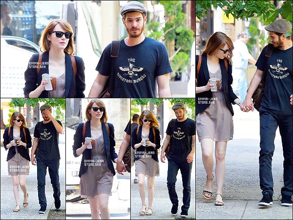 16.06.2014: Le couple Stonefield dans New York pour une balade romantique en amoureux.