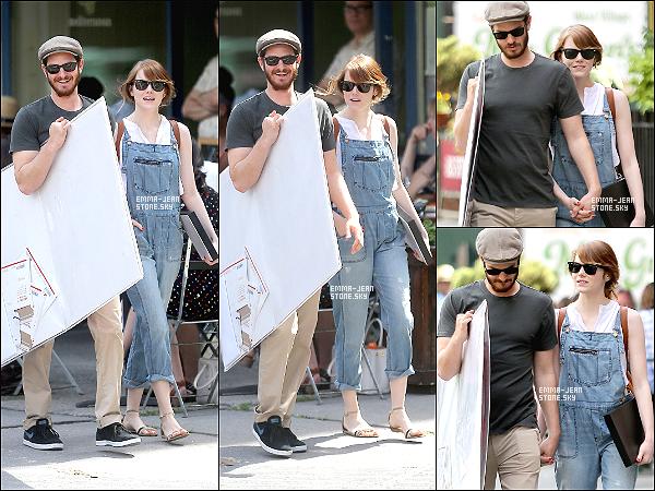 21.06.2014: Notre adorable petit couple dans les rues de New York pour une sortie en amoureux.