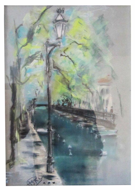 Canal à Annecy