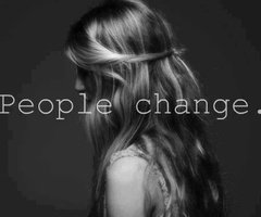 Tous le monde changent..