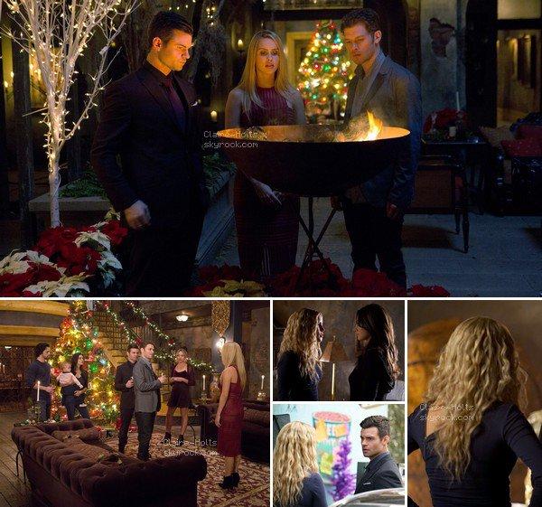 .   Quelques photos du neuvième épisode de la saison 3 de The Originals, & nous y retrouvons notre Rebekah Mikaelson & sa famille, mais aussi de Hayley.  .