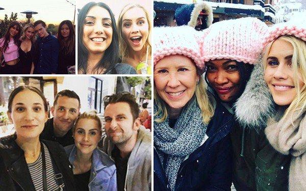.   Janvier 2017 Les photos postées par Claire, sur les réseaux sociaux.  .