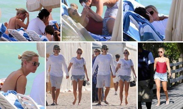 """.   02.12.2017 : Claire à la plage de Miami.  """""""