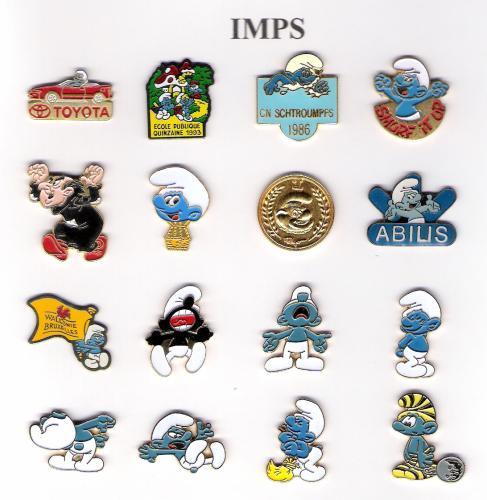 """Série signée """"IMPS"""""""